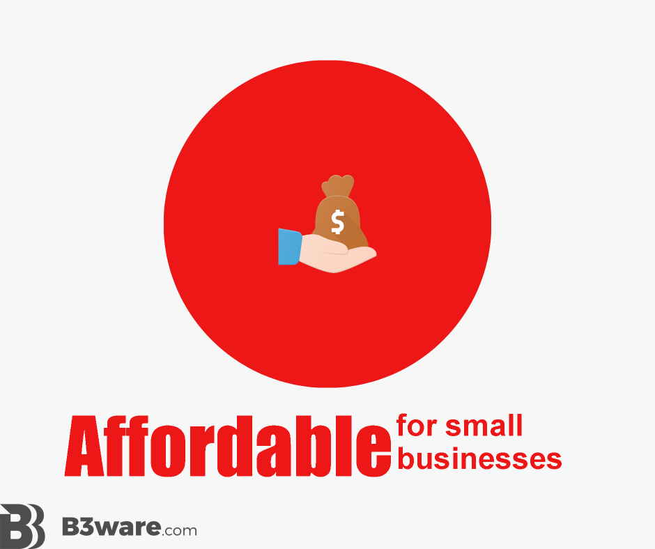 B3Ware - Review Criteria - Affordable for Small Business