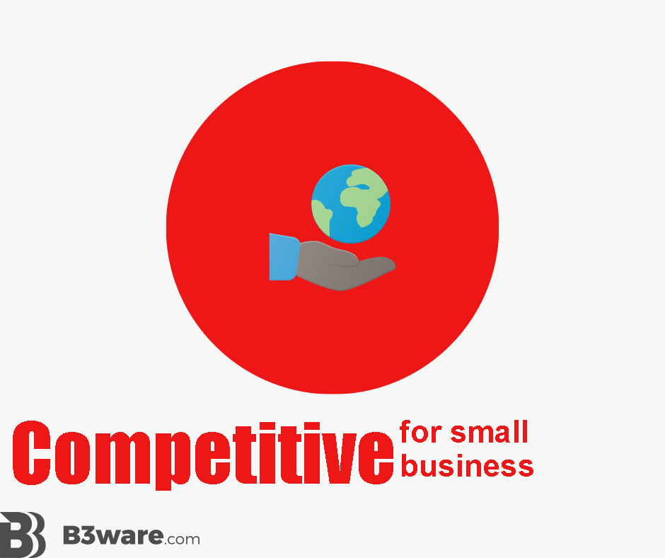 B3Ware - Review Criteria - Competitive for Small Business